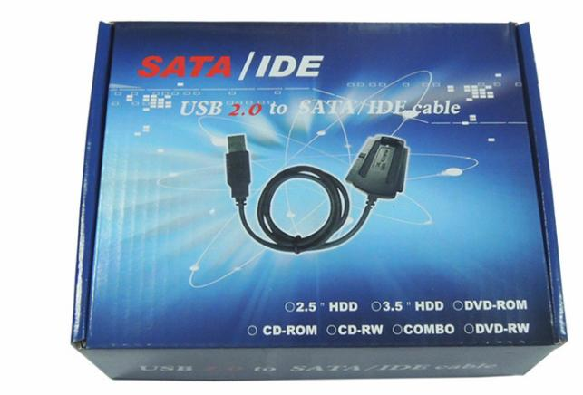 USB2.0 to SATA IDE Converter Cable