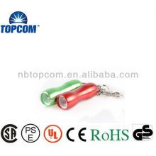 smart and fashion aluminum 3 LED Key Chains