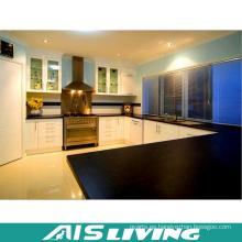 Diseño de muebles de gabinete de cocina clásico en blanco y negro (AIS-K360)