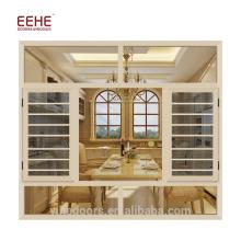 Porta de vidro de alumínio e janela personalizada última janela desenhos