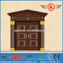 JK-C9036 unique home design security door copper arch door design
