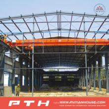 2015 Estructura de acero prefabricada de bajo costo modificada para requisitos particulares Warehouse