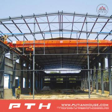 Entrepôt préfabriqué de structure métallique à faible coût de conception de Pth
