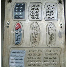 Compression rubber keypad Mould & keypad silicon molds