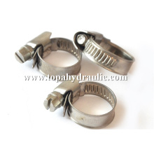 stainless steel types of hose heavy duty clamp