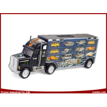 Military Toys Truck Carry Case with 7PCS Toys Cars