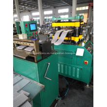 Máquina formadora de aletas personalizada y moldes de aletas