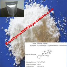 Pharmazeutisches Material Anti-Haarausfall Minoxidil CAS: 38304-91-5 für Antihypertensive