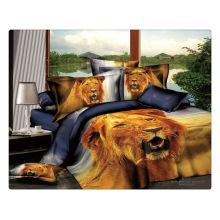 100% cotton 40s 133*72 reactive printed wholesale 3d bedding sets