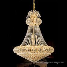Indoor use modern large crystal chandelier pendant light LT-65009