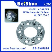 Wholesale Market Alliage d'aluminium CNC Car Wheel Adapter