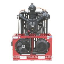 3.0Mpa Luftkompressor mit Keilriemen angetrieben, um das Betriebsgeräusch zu reduzieren