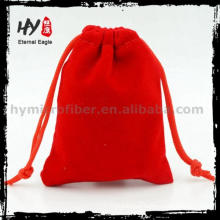 Fashion style velvet dice bag with high quality