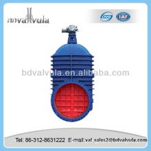 motorized non rising stem cuniform gate valve