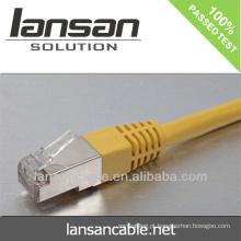 Cabo de ligação em rede com conector RJ45 (certificados CE / ROHS / ISO / UL / CCC)