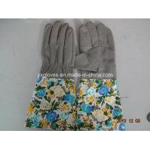 Guante de cuero sintético guante de jardín-Guante de trabajo Labro guante
