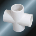 Din Pn10 Water Supply Upvc Cross White Color
