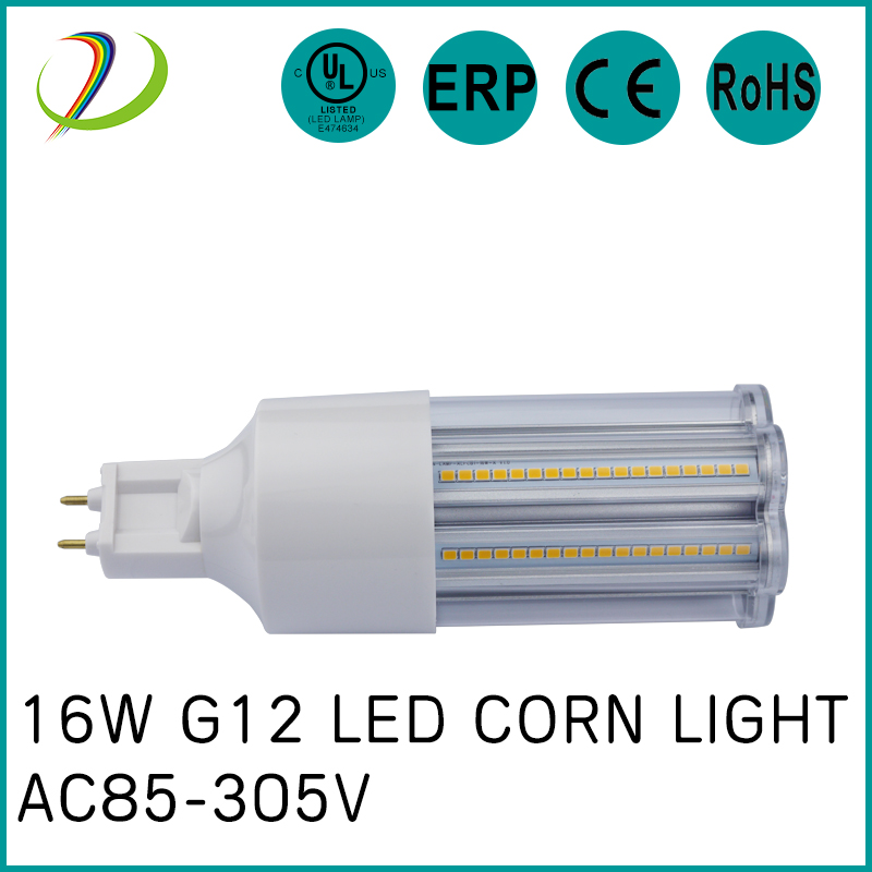 GX24 base 16w-24w led luz de maíz