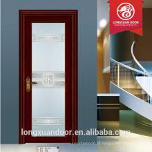 Lowes vidro interior dobrável portas estilo banheiro porta design alumínio baloiço porta