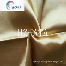 75dx150d Polyeater tela de seda de satén