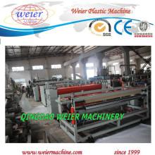 Máquina plástica de la línea de extrusión de hoja de perfil hueco de PP PE