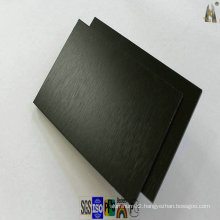Black Brushed Aluminum Panel for Wall Cladding