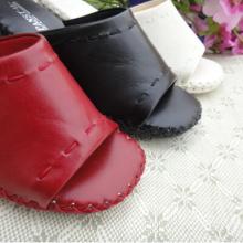 Pansy conforto sapatos ergonômicos calcanhar altura interior sapatinhos