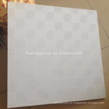 Azulejo de techo de yeso laminado de PVC