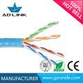 Shenzhen cat5e cabo de rede de cabo de função com CE RoHs FCC UL Certificação