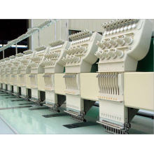 12 Head 9 Colors Flat Embroidery Machine