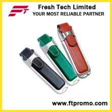 En forma de cuero USB Flash Drive (D501)