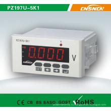 48 * 96 мм Заводская цена Однофазный светодиодный дисплей постоянного тока Цифровой измерительный вольтметр для электрического прибора