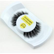 Wholesale false 100% real handmade horse hair strip eyelashes