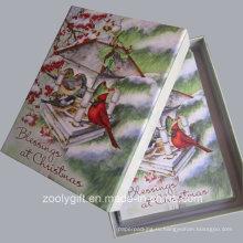 20 рождественских открыток и конвертов Благословение рождественских открыток с подарочной коробкой Упаковка