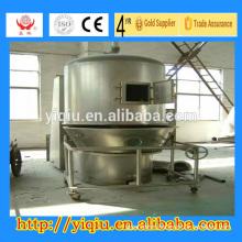 High efficiency vertical cocoa powder fluid bed dryer