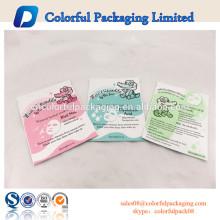 Saco de empacotamento cosmético da máscara do sono / folha de alumínio / saco de empacotamento cosmético para a máscara facial