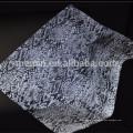 Sliver Reflective Mesh Fabric for shoe upper/reflecting shoe upper