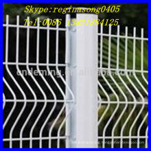 metal fence with square post