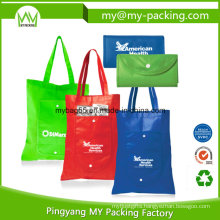 OEM PP Promotion Shopping Fold Non-Woven Bag