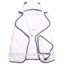 100% bambú extra soft baby Toalla con capucha súper mullida bebé premium toalla de baño --Mr Bear
