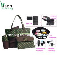 Umweltfreundliche Wickeltasche Mode gesetzt (YSDB00-003)
