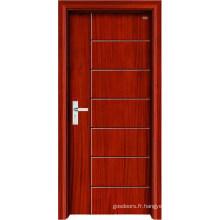 Nouveau design et porte d'intérieur en bois de haute qualité (LTS-107)