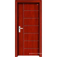 Новый дизайн и высококачественная внутренняя деревянная дверь (LTS-107)