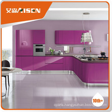 Reasonable & acceptable new design lacquer kitchen cabinets price
