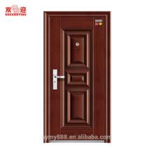 Portes d'ingénierie anti-incendie de portes d'ingénierie en acier