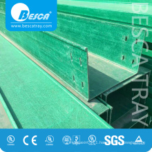 FRP/GRP Cable Tray - Bandeja de rejilla portacable fabricante (fibra de vidrio)