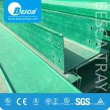 Bandeja de cabo FRP / GRP - Bandeja de rejilla fabricante portacable (fibra de vidrio)
