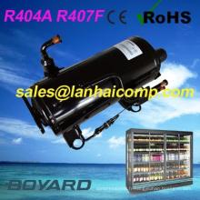 Compresseur de congélateur de réfrigération du petit chambre froide R407F R404A CE ROHS 3 hp pour l'affichage du congélateur pour crème glacée
