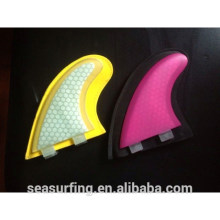 multi color G5 honeycomb tiny look surf fins with cover~~!