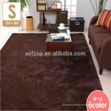 Textile Shaggy-Bereich-Teppich-Clips zeigen Preise an